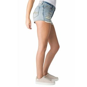 👛 Levi's DENIZEN High-Waist Cheeky Jean Shorts